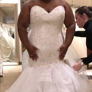 London style nights bridesmaid dress